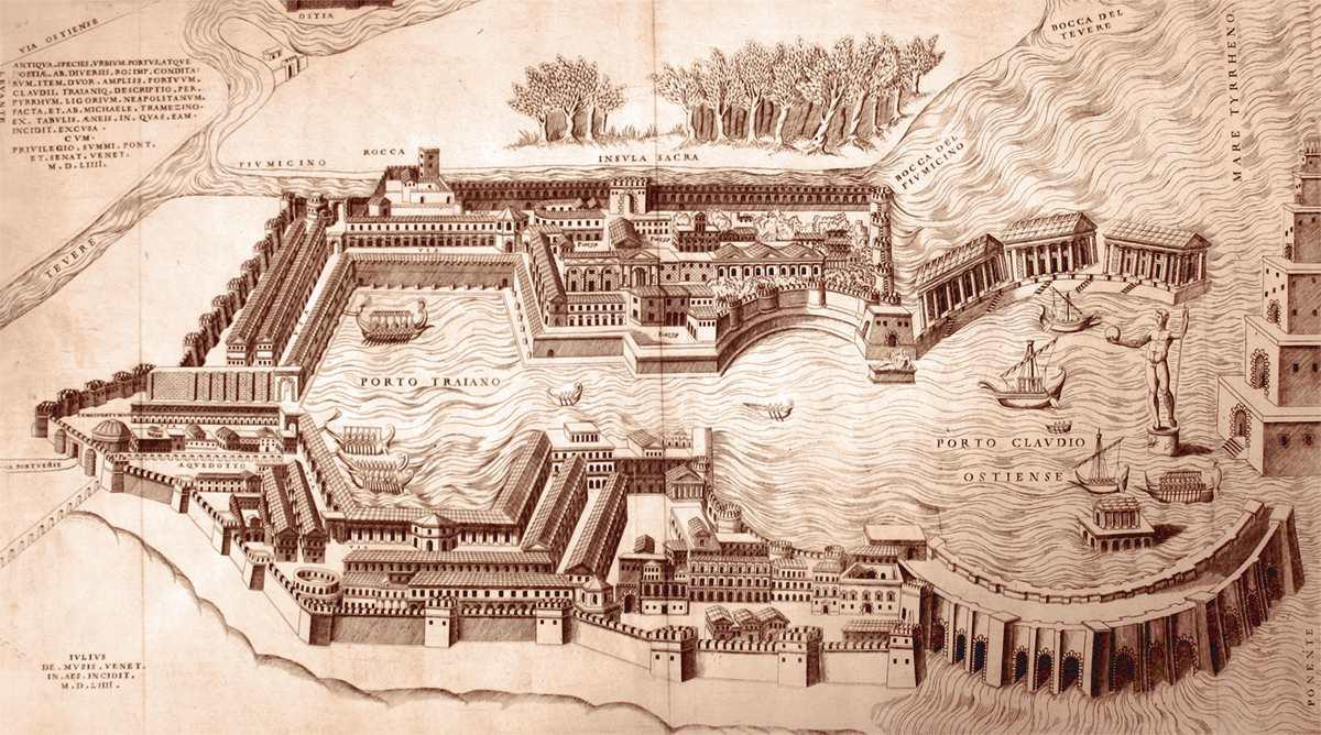 porto di Claudio e Traiano